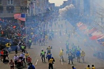 Boston Bombings on Monday